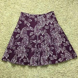Club Monaco Box Pleated Skirt